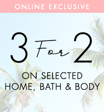 3 for 2 bath on home and body
