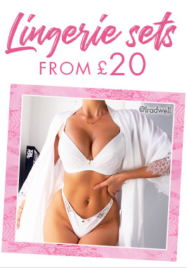 Lingerie sets from £20