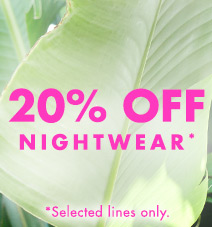 20% off Nightwear
