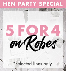 5 for 4 on selected robes