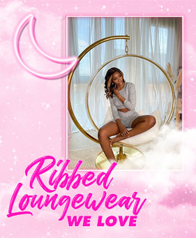 Ribbed loungewear we love
