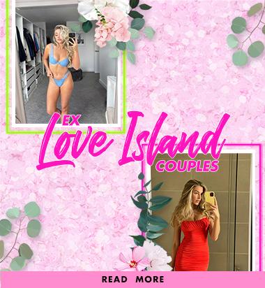 Ex Love Island couples