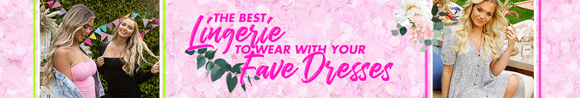 The best lingerie to wear with your fave dress