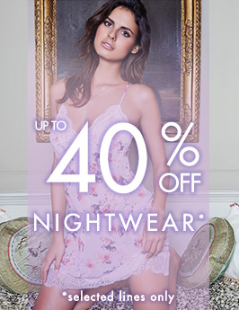 Up to 40% off nightwear
