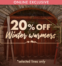 20% off winter warmers