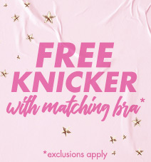 Free knickers with matching bra