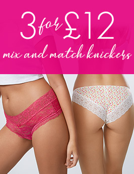 3 for £12 knickers