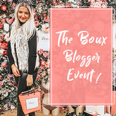 The Boux Blogger Event