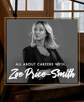 Boux careers with Zoe Price-Smith