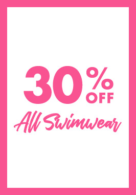 30% off all swimwear