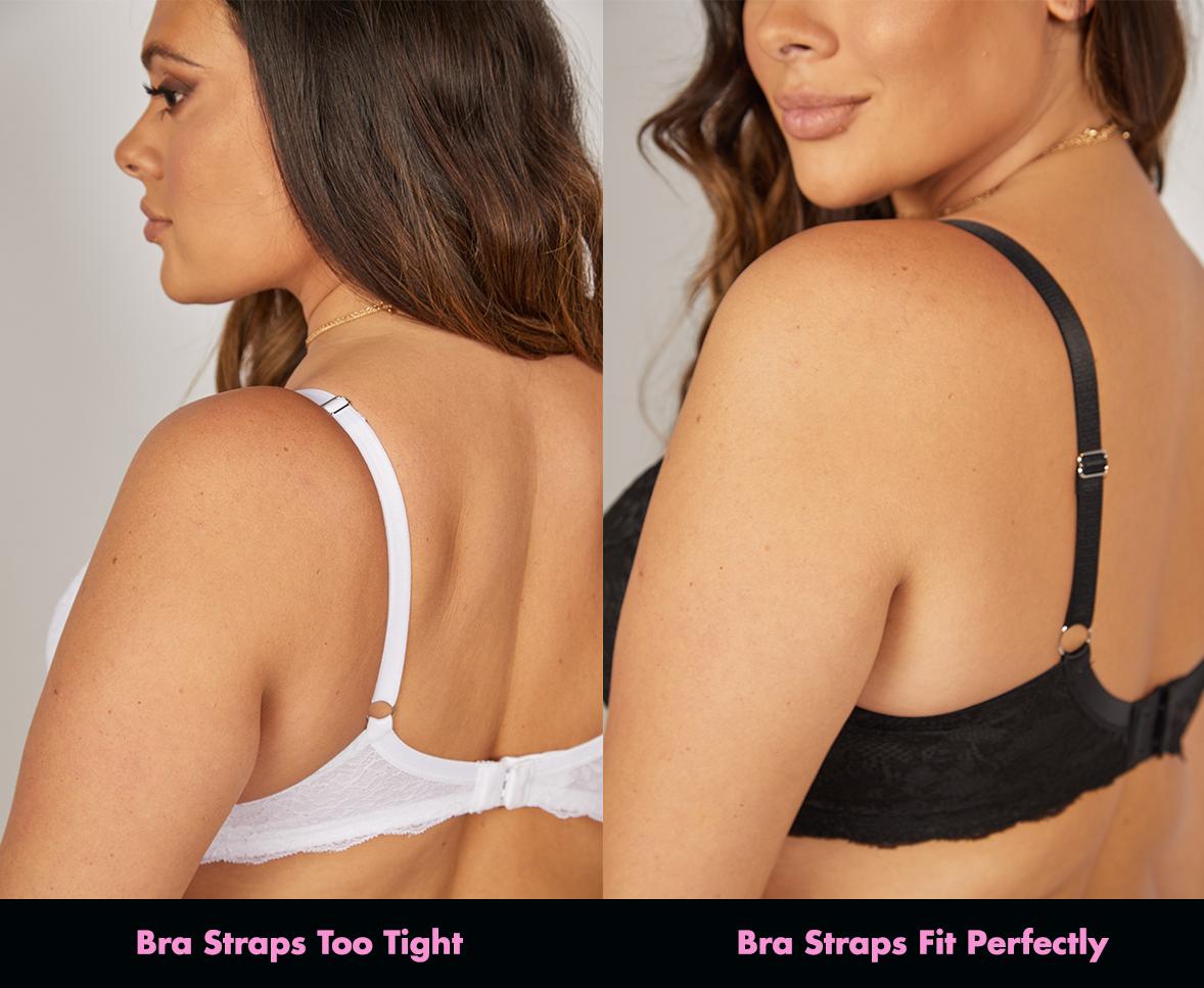 how should bra straps fit