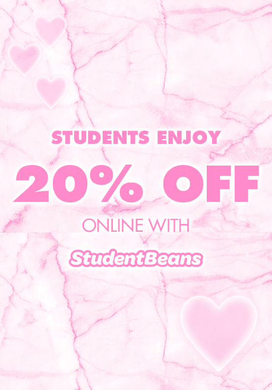 20% off student beans