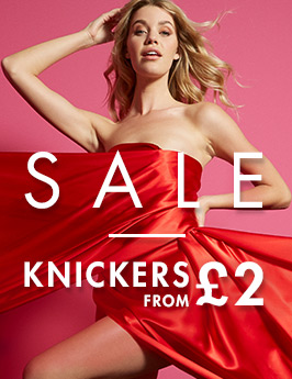 Sale knickers from £2