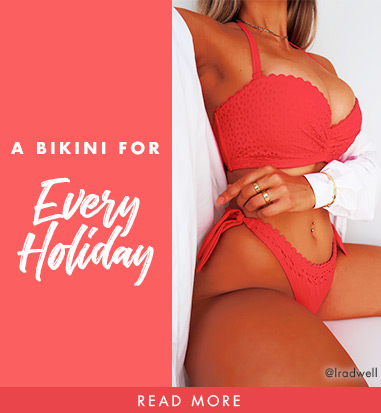 A bikini for every holiday