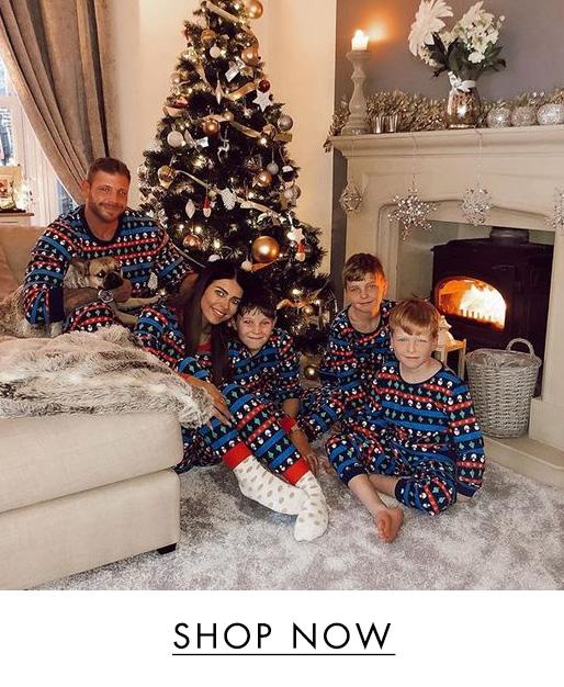 Festive family pyjama set